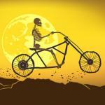 Halloween Wheelie Bike